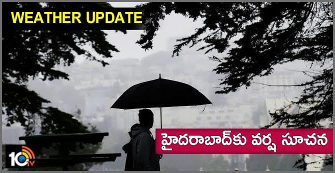 Rain in Hyderabad in 36 hours