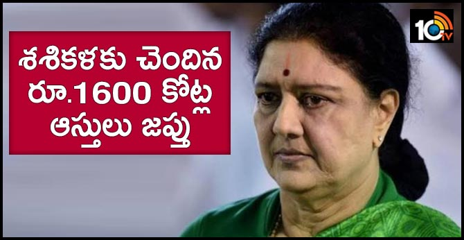 "Ex-AIADMK leader Sasikala""s  assets attached under Benami act"