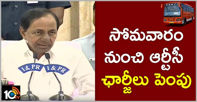 Telangana RTC Charges will hike from next monday