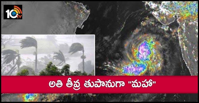 Tropical Cyclone Maha to threaten flooding