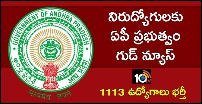 good news for ap unemployed youth