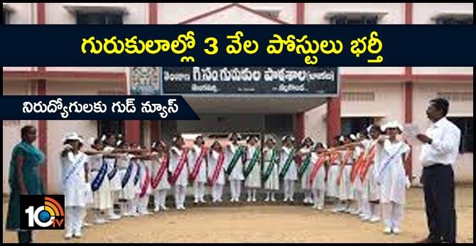 govt to fillup gurukula posts