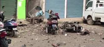 Massive blast in Imphal