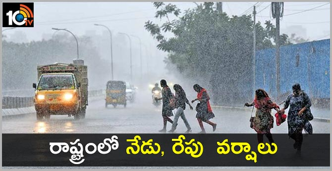 next to days rains in telangana
