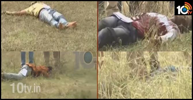 Disha Case Accused Dead Bodies Move