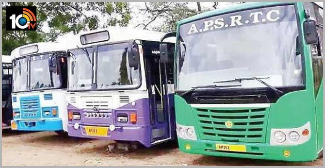 2,350 APSRTC special buses for Sankranti