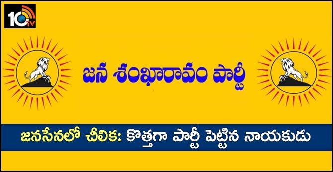 A New Political Party formed in Telangana named as Jana Shankaravam party