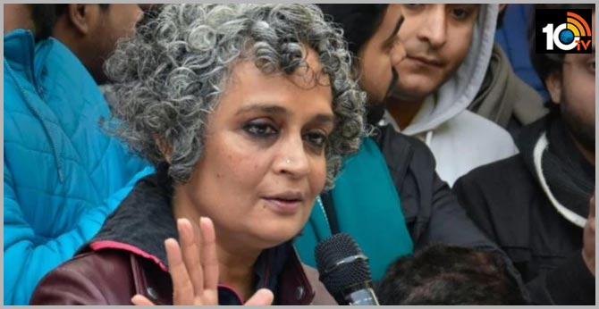 Arundhati Roy asks people to give false names like Ranga-Billa for NPR over CAA protests