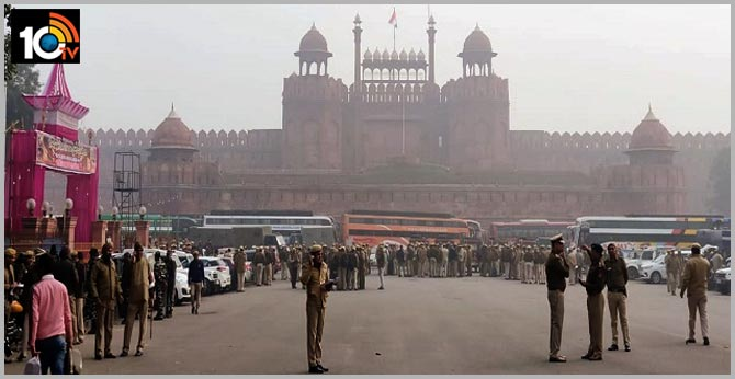 CAA Protest 144 Section at Red Fort