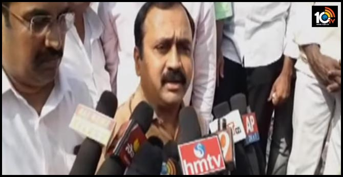Capital Issue in AP, MLA Alla Ramakrishna Reddy comes out after disappered