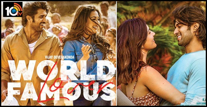 Catherine Tresa and Raashi Khanna Looks from World Famous Lover