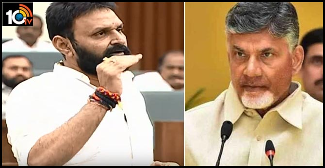 Chandrababu has corrupted the systems  minister Nani comments