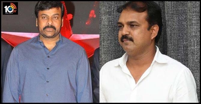 Chiranjeevi turns into a government employee for Koratala Siva's film!