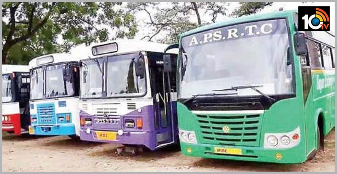 Controversy of tenders of rental buses in APSRTC