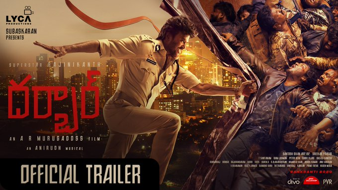 DARBAR (Telugu) - Official Trailer