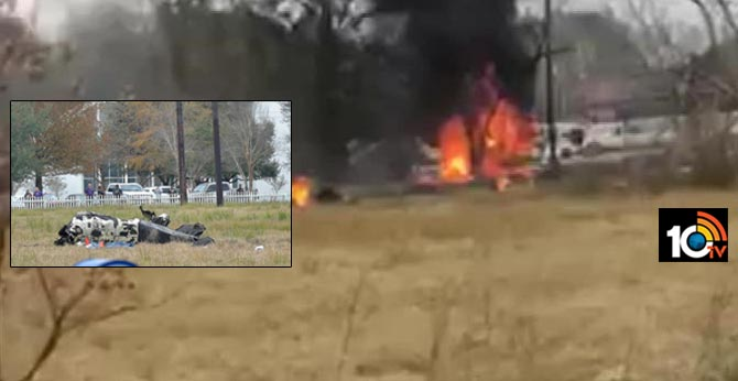 Five people died in a small plane crash near Louisiana airport, officials say