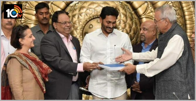 GN RAO Committee Report YCP and BJP Welcome