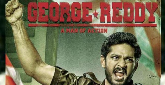 George Reddy the story of a student leader from Osmania University is going for the International Film Festival.