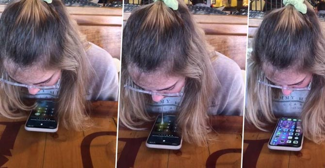 Girl uses spit to unlock her smartphone, TikTok video goes viral
