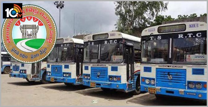 Goods transport in TS RTC buses