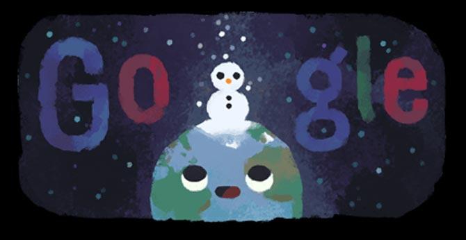 Google Doodle marks Winter Solstice: Celebrates shortest day, longest night of the year