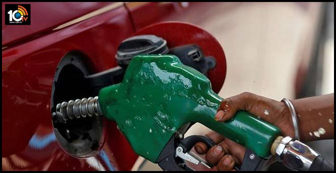 Increased petrol prices