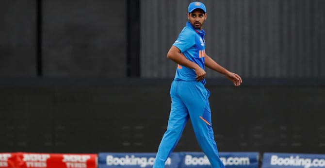 Injured Bhuvneshwar Kumar out of West Indies ODIs; Navdeep Saini, Shardul Thakur, Umesh Yadav in fray