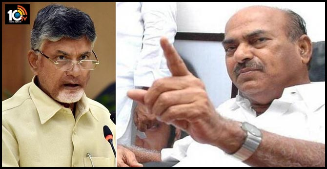 JC Diwakar reddy takes class to Chandrababu Naidu