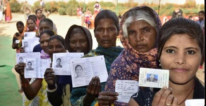 Polling Day: Jharkhand Fourth Phase Election