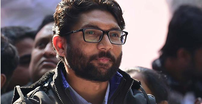 Jignesh Mevani suspended for 3 days from Gujarat Assembly for 'indiscipline'