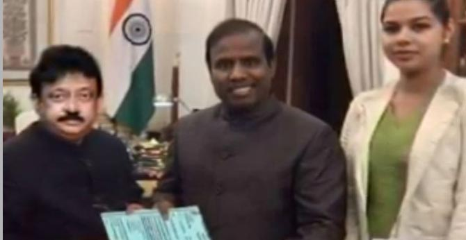 KA Paul Daughter-in-law Complaint Against Ram Gopal Varma