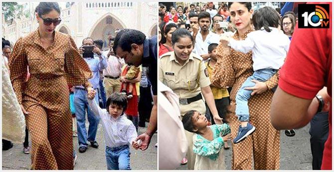 Kareena Kapoor Gets Slammed For Ignoring Beggar Child