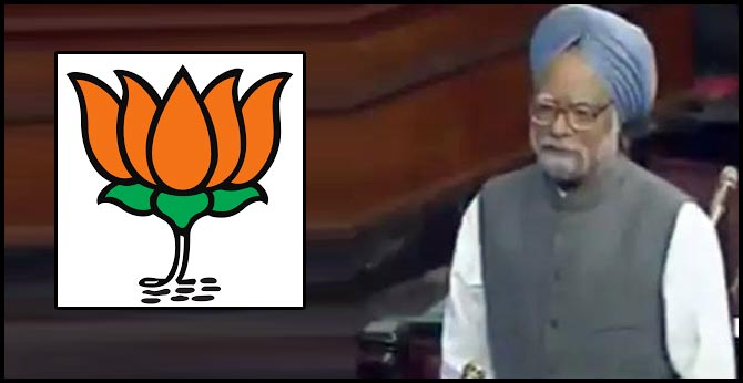 """""""In 2003..."""": BJP Pulls Out Old Video Of Manmohan Singh On Citizenship"""