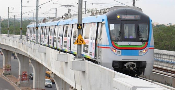 Metro Rail runs on JBS - MGBS route Sankranthi