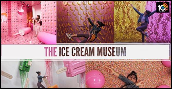 Museum of ice cream opens in New York