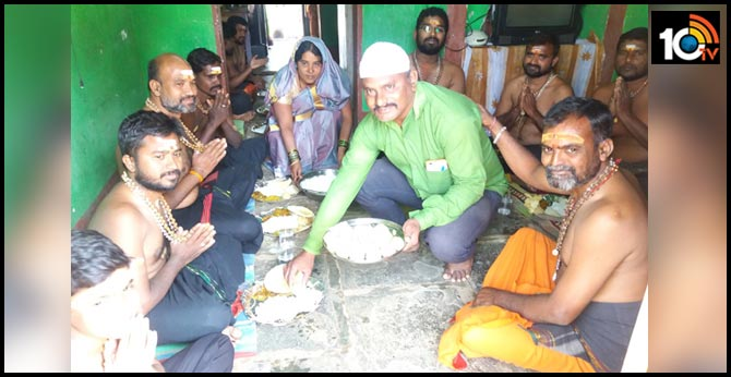 Muslims Donate rice to Ayyappa devotees