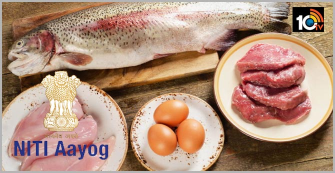 Niti Aayog PDS supply of eggs, fish, meat