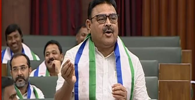 Opposition leaders should advise Only YCP MLA Amati In AP Assembly