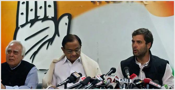 "P Chidambaram's ""Incarceration Vengeful And Vindictive"": Rahul Gandhi"