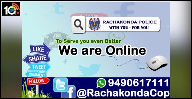 PLEASE FOLLOW & LIKE US Rachakonda Police
