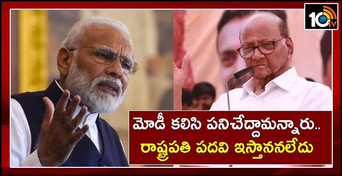 """""""PM Modi Wanted Us To Work Together, Said Not Possible"""": Sharad Pawar"""
