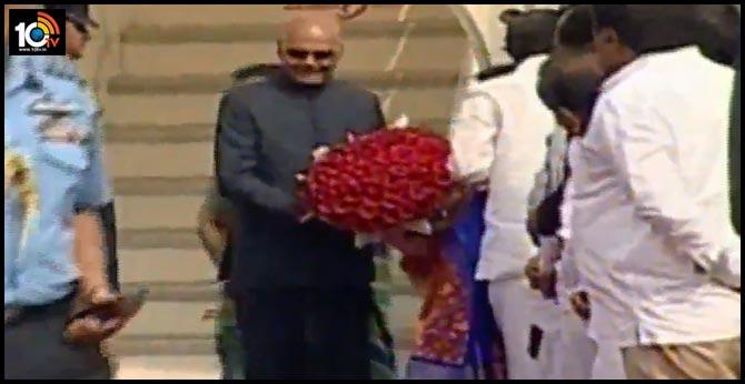 President Ramnath Kovind Winter Tour Hyderabad
