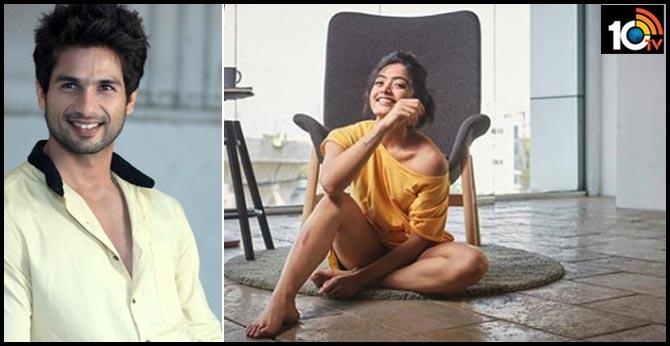 Rashmika Mandanna reveals the REAL REASON for rejecting Shahid Kapoor's Jersey