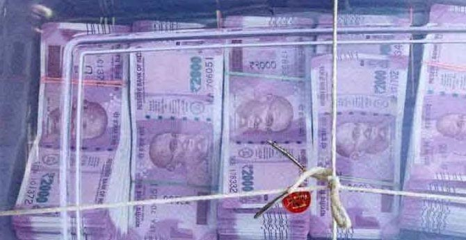 Rs.5.44 lakhs counterfeit notes seized