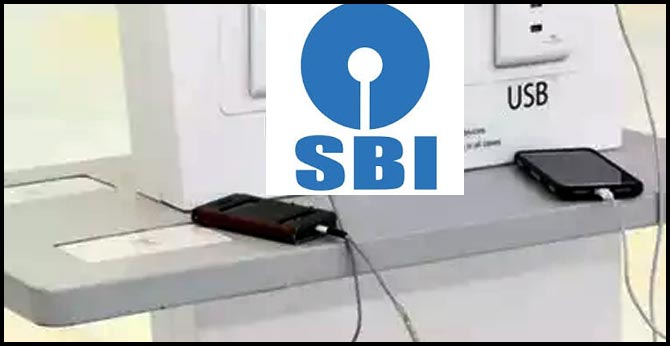 before you plug in your phone at charging stations SBI Tweet