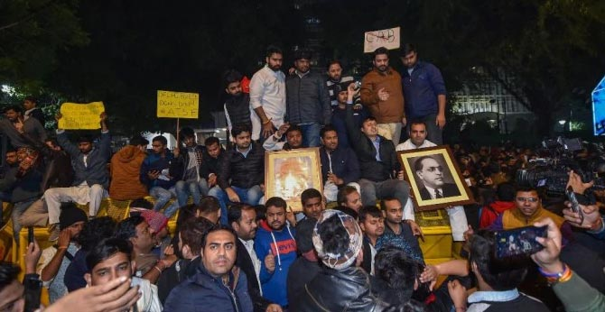 Solidarity for Jamia students Citizenship Amendment Protests in Universities