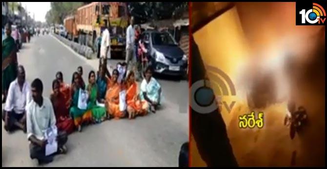 Son in law Naresh Doubtful Death in  Yadadri district