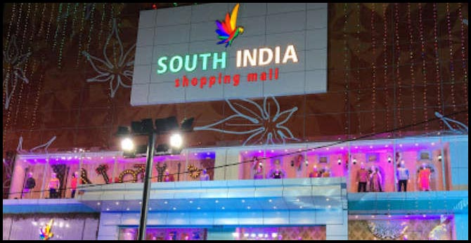 South India Shopping Mall fined Rs 45,000