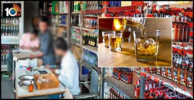 Supervisor robbed 9.12 lakhs in AP Government Liquor Shop