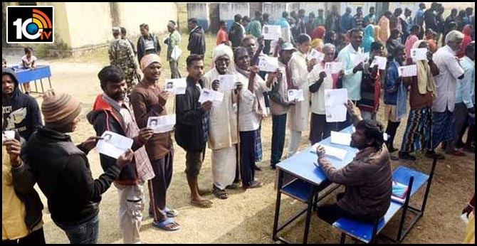 Third phase of polling in Jharkhand